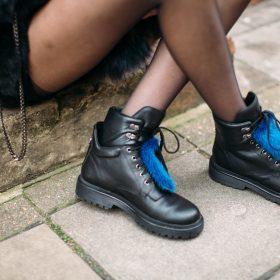 Cómo combinar las botas estilo militar