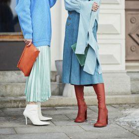 Cómo lucir tu falda midi esta temporada