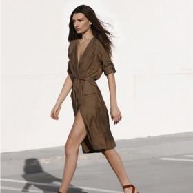 Vestidos asimétricos de mujer