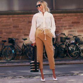 Pantalones capri y midi de mujer