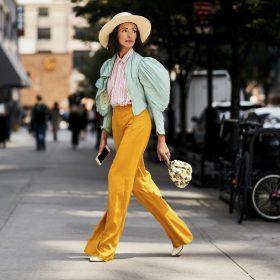 Pantalones anchos y harén de mujer