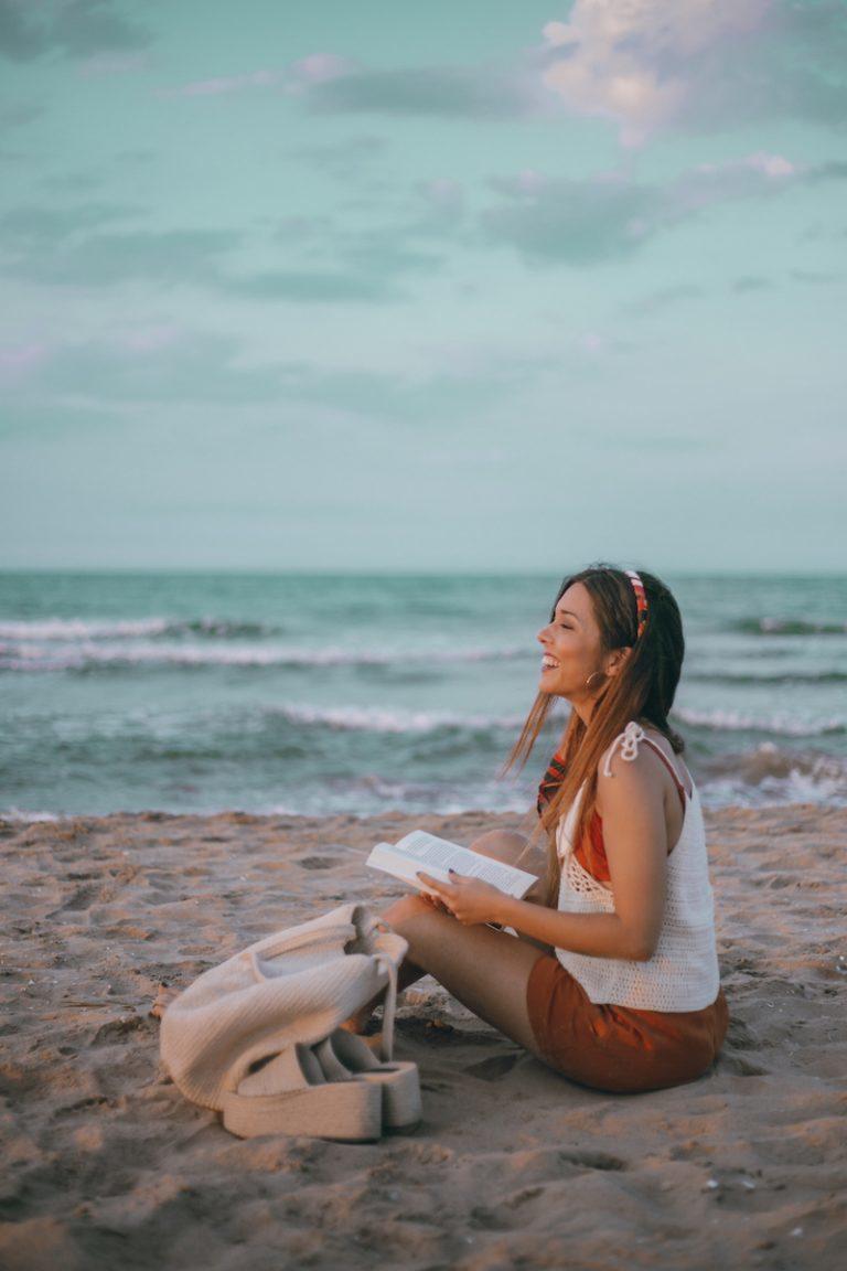 Un día de playa con María Pintado