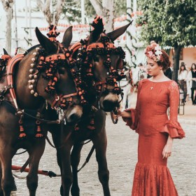 Feria de Abril: Looks alternativos para el traje de flamenca
