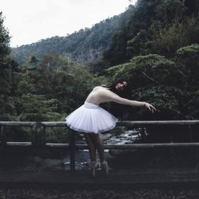 Bailarinas de mujer