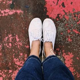 Zapatos planos casual de mujer