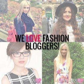 ¿Sabías que nos encantan las bloggers de moda?