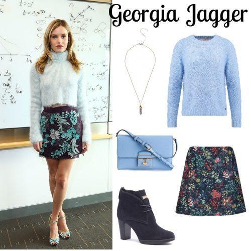 Visto : Georgia Jagger