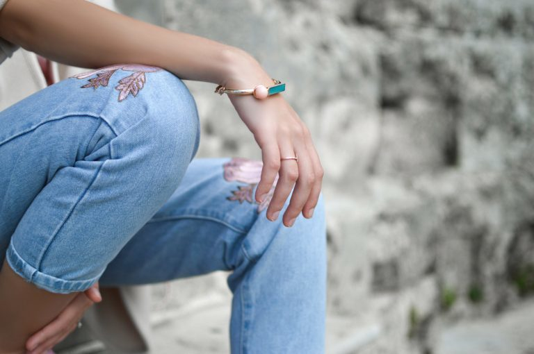 Tendencia: Denim bordados