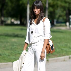 Pantalones blancos para diferentes ocasiones