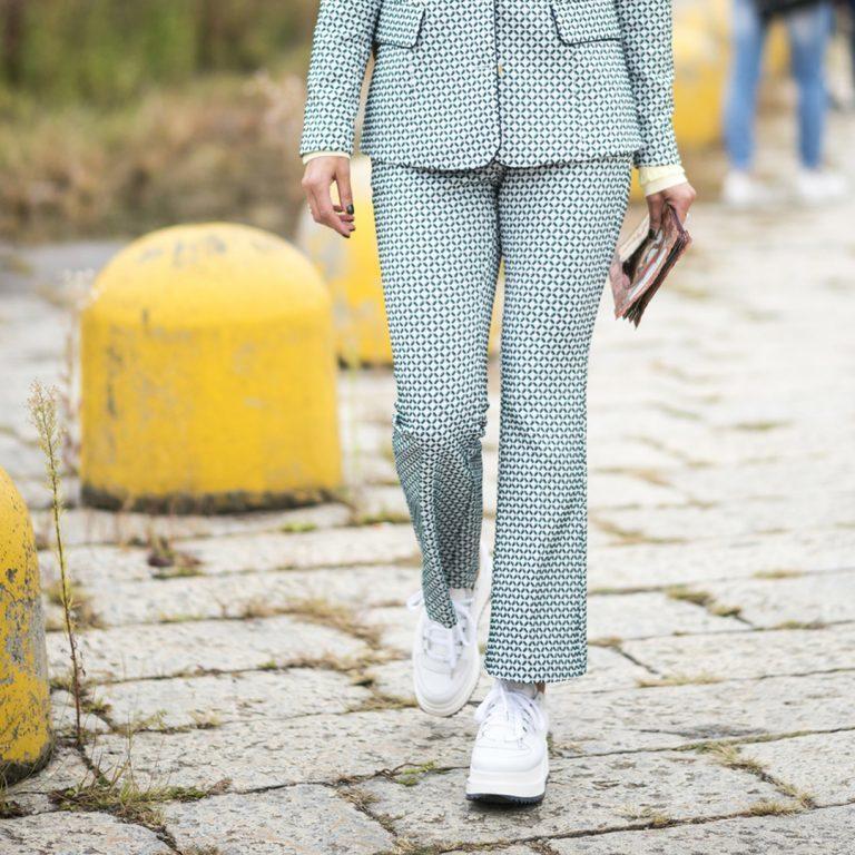El traje de chaqueta femenino