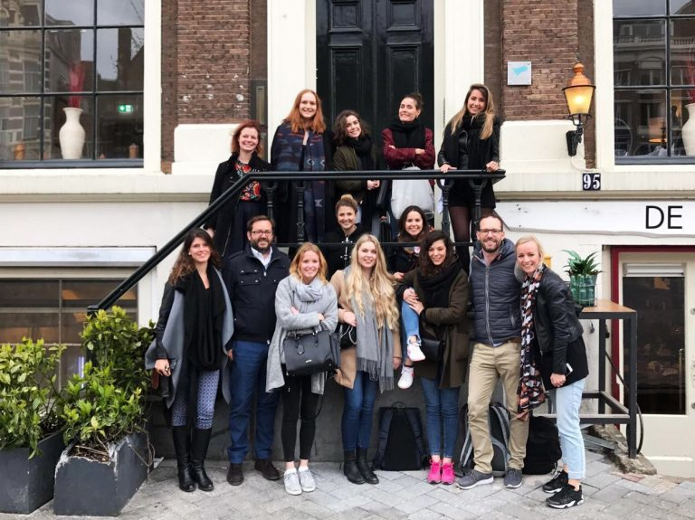Un día en la oficina de Amsterdam