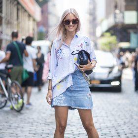 5 formas de llevar minifalda vaquera