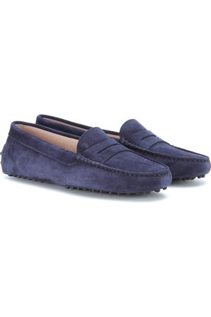 Mujer Loafers - Tods Gommini Suede Loafers