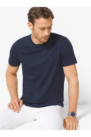 Michael Kors Hombre Camisetas - Camiseta De Cuello Redondo En Algodón