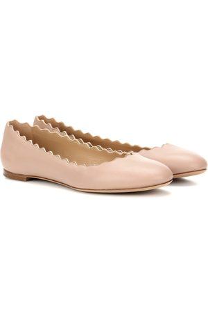 Mujer Bailarinas - Chloé Lauren leather ballerinas
