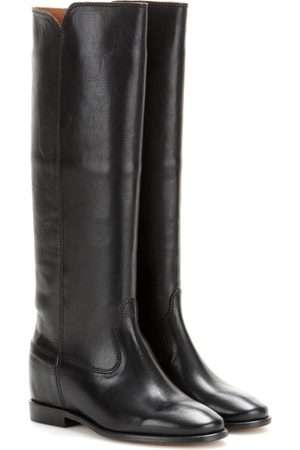 Mujer Botas - Isabel Marant Chess leather boots