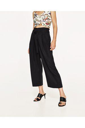 67ae0e389e Mujer  Lencería y Ropa interior  Zara. Mujer Pantalones y Leggings - Zara  CULOTTE LAZO