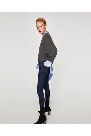 Zara JEGGING TIRO ALTO - Disponible en más colores