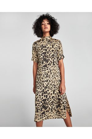Y De Estampados Zara 60 ¡compara Compra Mejor Vestidos Productos Ahora Mujer  Baratos Precio Al g85fnwq 14447a1a22a2