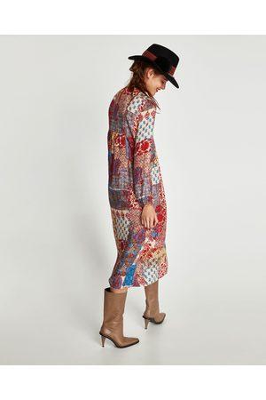 02dfebb3b Vestidos Largos de mujer Zara online. ¡Compara y compra!