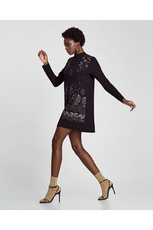 9abf523925 Vestidos Estampados de mujer Zara invierno ¡Compara 647 productos y ...