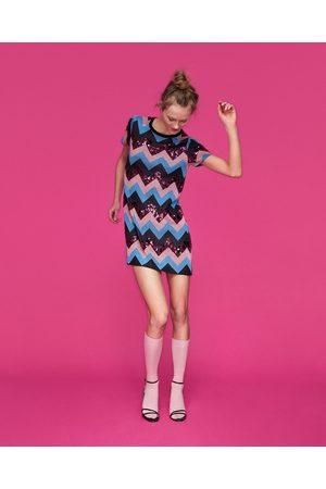 5960cd794df De Barata Vestidos Mujer 155 Zara Tiendas Punto Online ¡compara shQdCrxtB