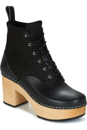 Swedish Hasbeens Botines HIPPIE LACE UP para mujer