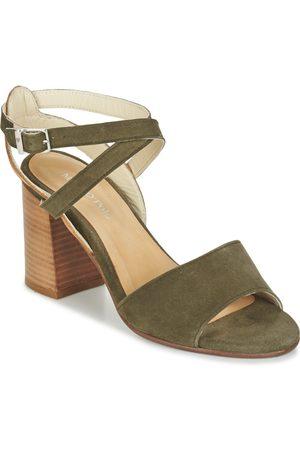 70313861102100 Sandal - Sandalias de Punta Descubierta Mujer, Color Marrón, Talla 37,5 Marc O'Polo