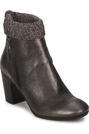 MISS SIXTY Zapatos De CueroGrisTacón: 8,5 cm