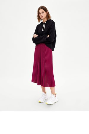 Faldas De Falda Tablas Zara Productos Midi Y ¡compara 4 Compra Mujer pwpZrRq