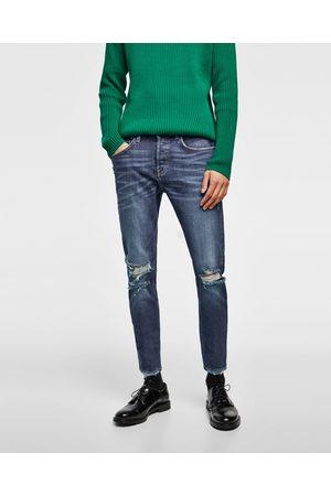Zara DENIM SKINNY RAW EDGE - Disponible en más colores