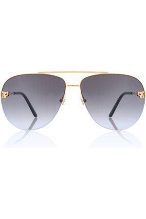 CARTIER EYEWEAR Gafas de sol estilo aviador Panthère de Cartier