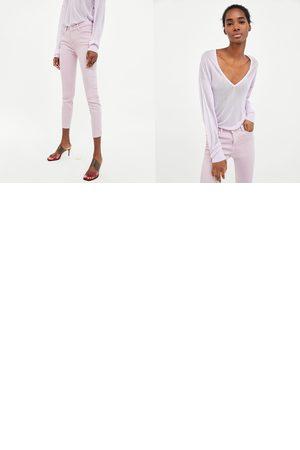 Zara JEANS SKINNY RED TIE DYE - Disponible en más colores