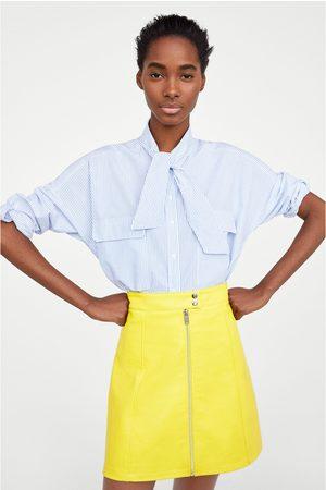 54eea3e644 Faldas De Cuero de mujer Zara online. ¡Compara y compra!