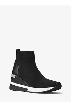 Michael Kors Mujer Zapatillas deportivas - Zapatilla Skyler De Corte Alto De Punto