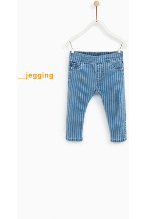 Zara JEGGING DENIM ESTAMPADO - Disponible en más colores