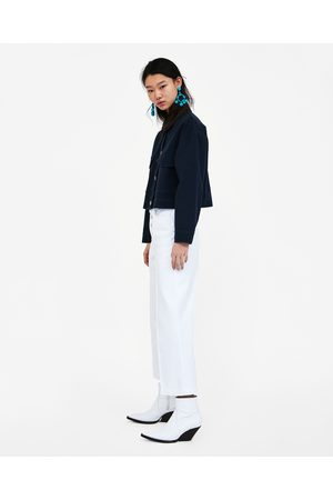 f4103cdf21 Mujer  Lencería y Ropa interior  Zara. Zara JEANS Z1975 CULOTTE BOTONES