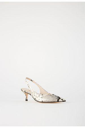 cec330dc Zapatos de mujer Zara tacon destalonado ¡Compara 110 productos y compra  ahora al mejor precio!
