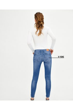 "Zara JEGGING LOW RISE V-YOKE ""CURVES"""