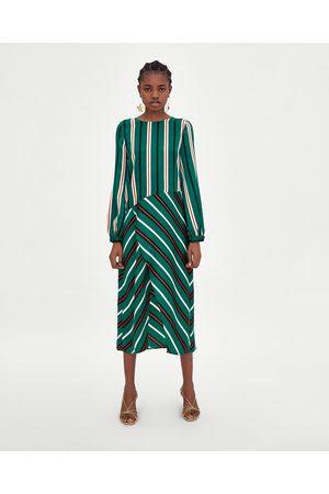 Rebajas Zara Baratas Compra Midi Vestidos Mujer Y En ¡compara De aYYwIT