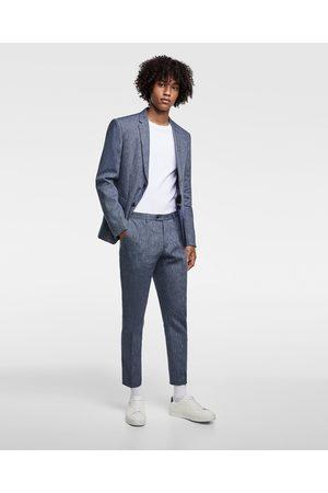 Pantalones De Traje De Hombre Zara Pantalones Rayas Fashiola Es