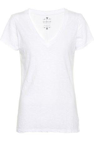 Velvet Camiseta de algodón