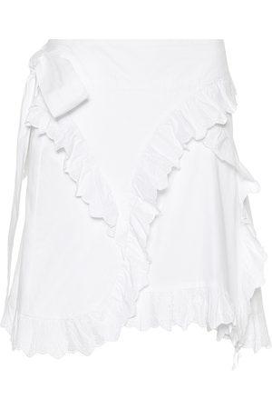 Isabel Marant, Étoile Minifalda de algodón bordada Milou