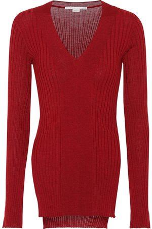 Stella McCartney Mujer Jerséis y suéteres - Jersey en lana y seda