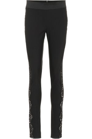 Stella McCartney Pantalones skinny con encaje