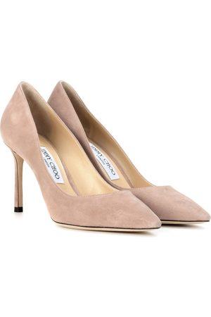 Jimmy choo Zapatos Romy 85 de gamuza con zapato de salón