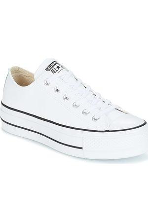 zapatillas blancas mujer converse