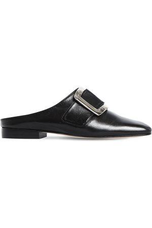DORATEYMUR Zapatos Mules De Piel 20mm