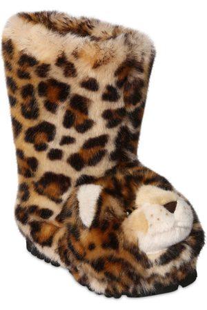 Dolce & Gabbana | Niña Botas Con Forma De Leopardo 33