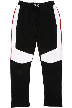 Balmain Pantalones Deportivos De Algodón Color Block